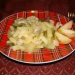 Жаркое из свинины с картошкой на сковороде