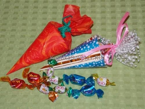 Упаковка с конфетами