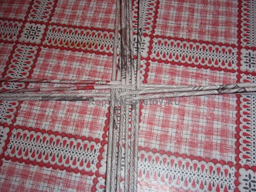 Плетем основу