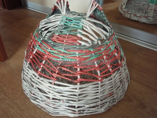 Плетем крышу