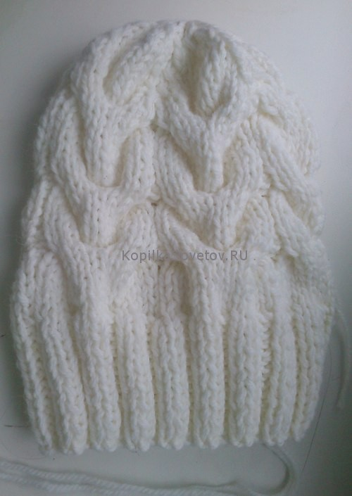 Стянутая шапка