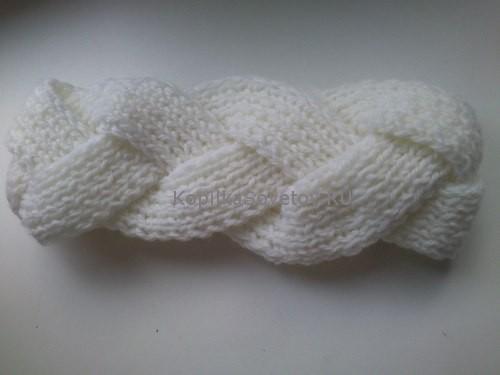 Сшиваем повязку