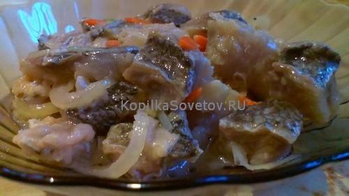 Маринованный толстолобик - рецепт приготовления